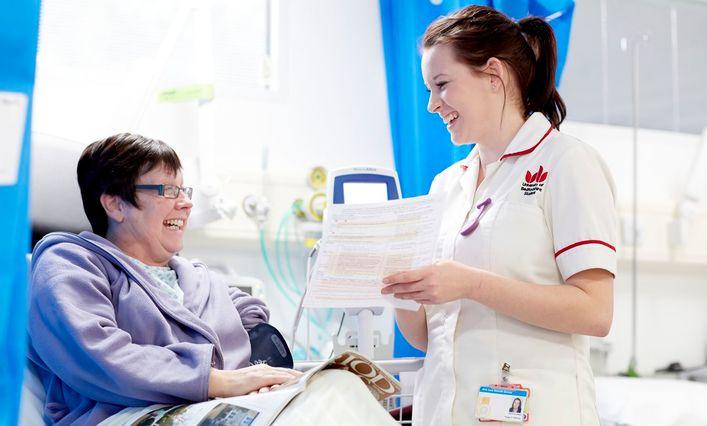 Nursing student at University of Bedfordshire