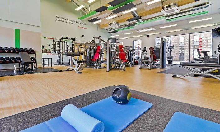 University of Bedfordshire gym