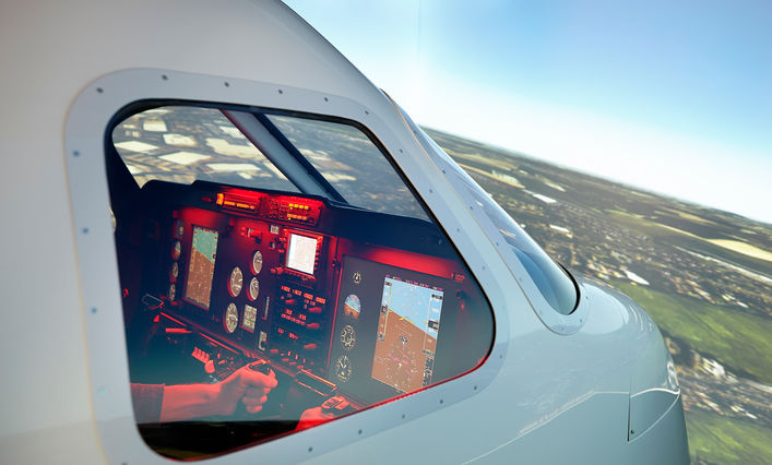Pilot training at Bucks New University